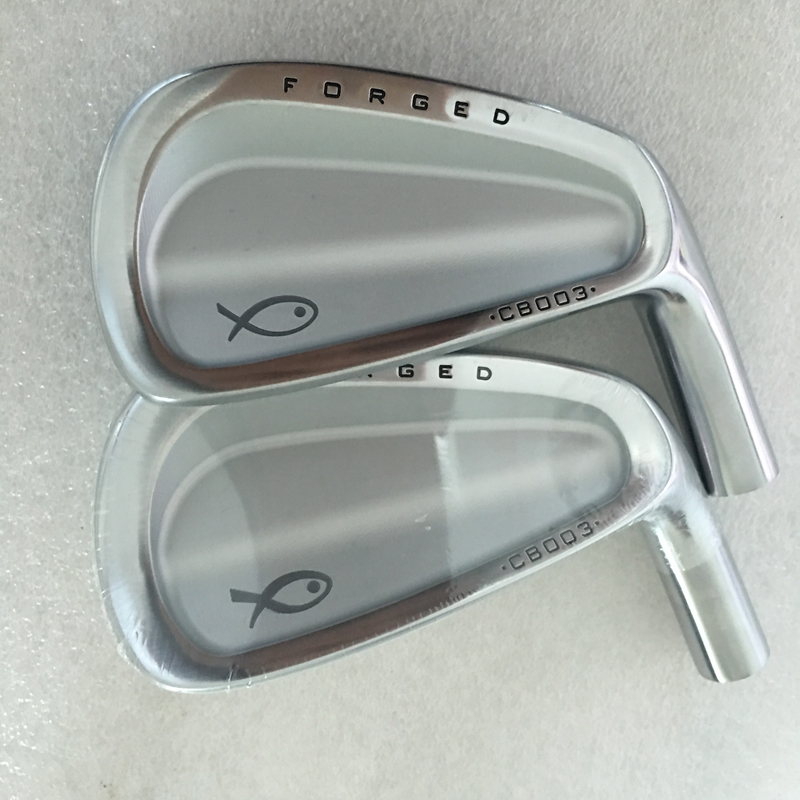 Cooyute Hot Sale New Golf Heads CB003 Forged Golf Irons Set 3-9P Soft Iron CB003 Clubs Irons Head No Irons Shaft Free Shipping