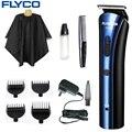 Flyco pelo recargable eléctrico clipper de cortar el pelo profesional de corte herramientas de corte de pelo máquina de afeitar para los hombres o el bebé fc5806