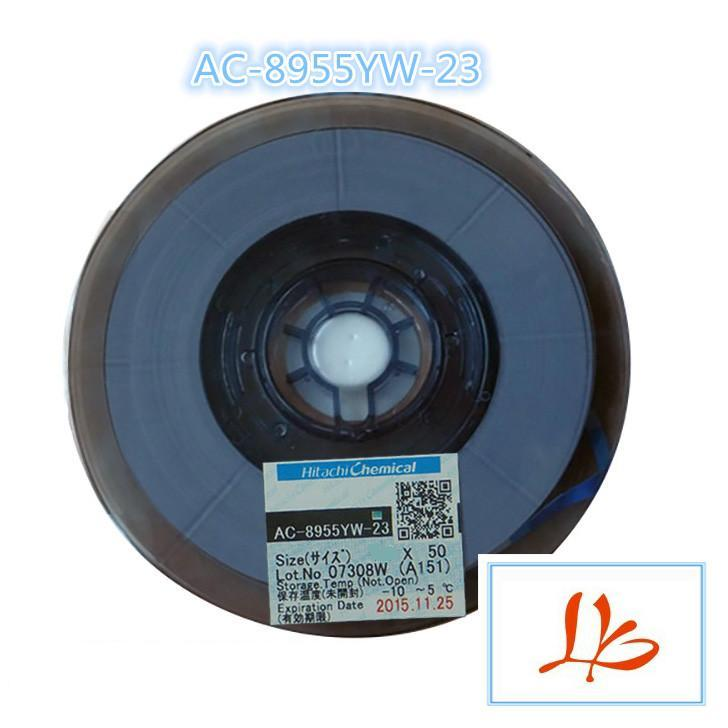 New arrival original AC-8955YW 2.0MM*50M glue tape for Pressure cable machine муфта гост 8955 в украине