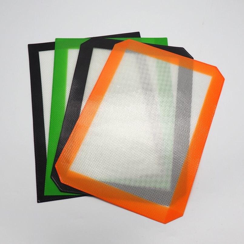 4ks kusů Ekologicky šetrná podložka na nádobí na nádobí, pečící podložka na pečení FDA schválila potravinářský silikon