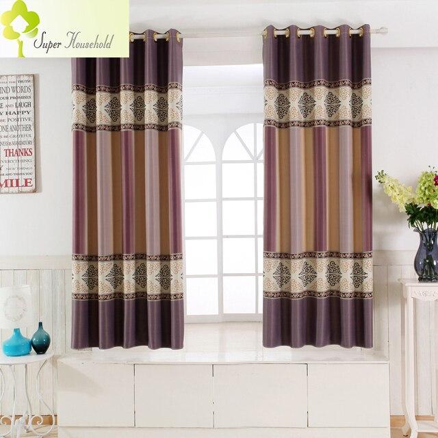 Single Panel Modern Window Curtains For Kitchen/ Living Room/ Bedroom  Divider Bay Window Door