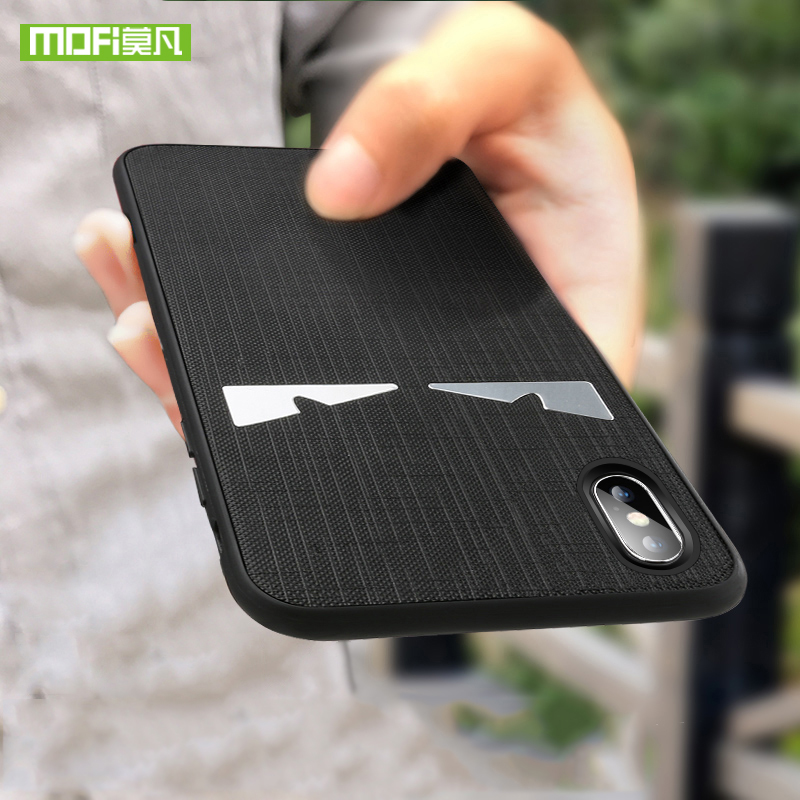Fashion Case For iPhone X Case Silicone Cover Original MOFI For iPhone X 10 Luxury Silm Protection Phone Soft For iPhone X Case