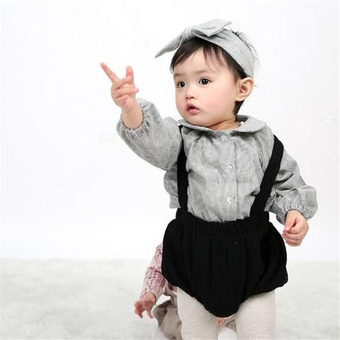 suspender shorts coreano bebe adoravel bottoms verao