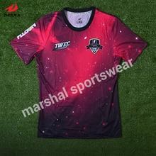 ee57ed202 t-shirt DIY any design color logo top football shirt maker soccer jersey