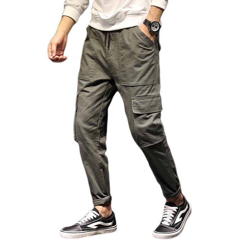 Mutter & Kinder FleißIg Männer Joggers Hip Hop Harem Hosen Männlichen Casual Hosen Streetwearsweatpants Männer Beliebte Armee Green Cargo Pants M-5xl