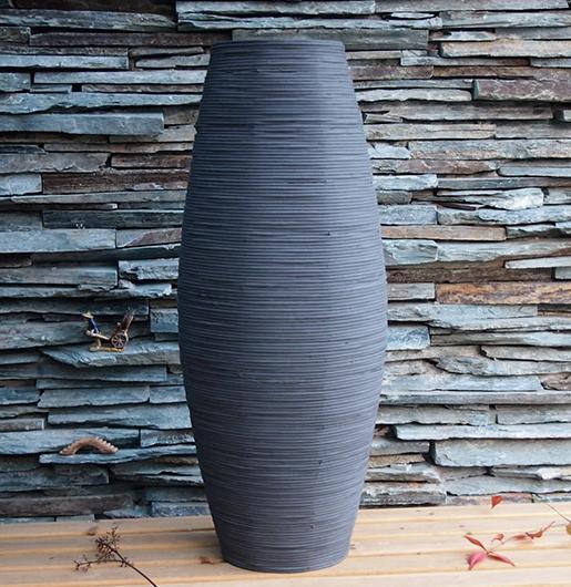 kingart bamb grande vaso de piso grande saln jarrn decorativo piso casa de arte y artesana