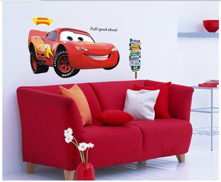 Online Get Cheap Lightning Vinyl Aliexpresscom Alibaba Group - Lightning mcqueen custom vinyl decals for car