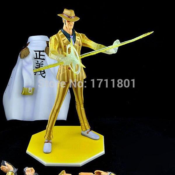free shipping pop one piece kizaru navy admiral pvc action figure