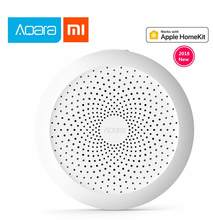 2019 Xiaomi Mijia Aqara Hub Mi Gateway with RGB Led night light Smart work with Apple Homekit Mi home App International Edition(China)