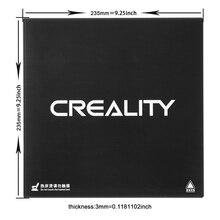 3D платформа для печати кремния углерода с подогревом построить SurfaceTempered Стекло пластины 235*235*3 мм для Creality Ender-3 MK2 MK3 очаг