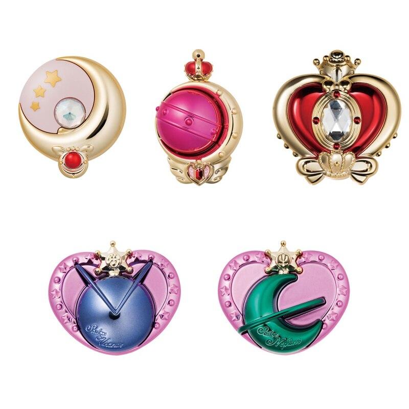 Sailor Moon transformation Compact mini Miroir vol.3 Ensemble de 5 Japon Anime Collection Mascot Jouets 100% D'origine