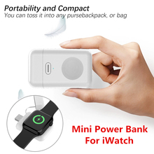5V 1A Mini Power Bank For Apple Watch iWatch 4 3 2 1 USB Wireless Charger Dock For iWatch Portable Smart Watch Wireless Charger 45w 14 5v 3 1a 60w 16 5v 3 65a magsaf 1 for macbo k air 1113 a1244 a1304 a1369 a1370 a1374 a1184 a1330 a1344 a1278 a1342