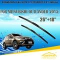 "Lâminas de limpador para mitsubishi outlander (2012-) 2013 2014 2015 Car Windscreen Windshield Wiper Wiper Blade 26 ""+ 18"" carros estilo"