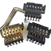 Original Genuine GOTOH GE1996T Locking Tremolo System Bridge Without Locking Nut ( Chrome Black Gold ) MADE IN JAPAN