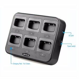 Image 2 - Protection de sécurité Multiple pour chargeur à Six voies RTC777 pour BF 888S Baofeng 888S chargeurs de talkie walkie H777/H777 Plus
