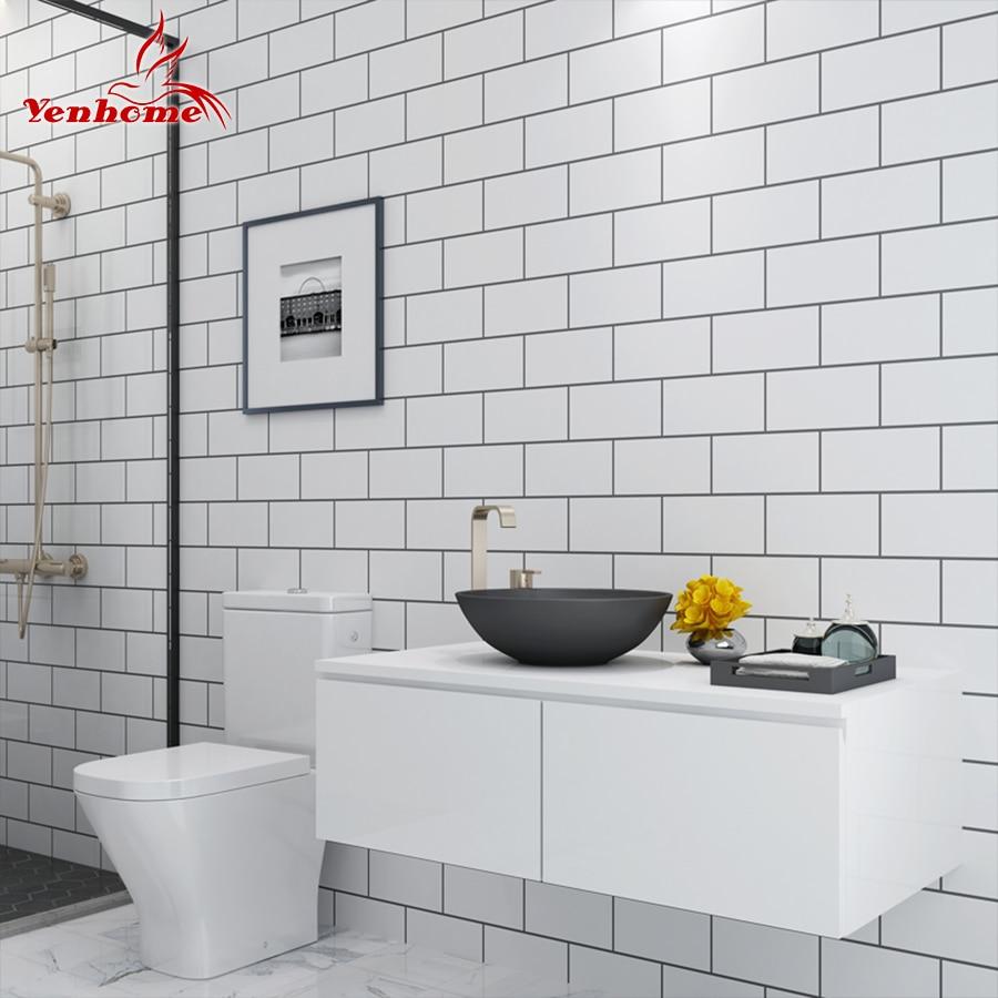 5M Modern Kitchen Tile Sticker Bathroom Waterproof Self ...