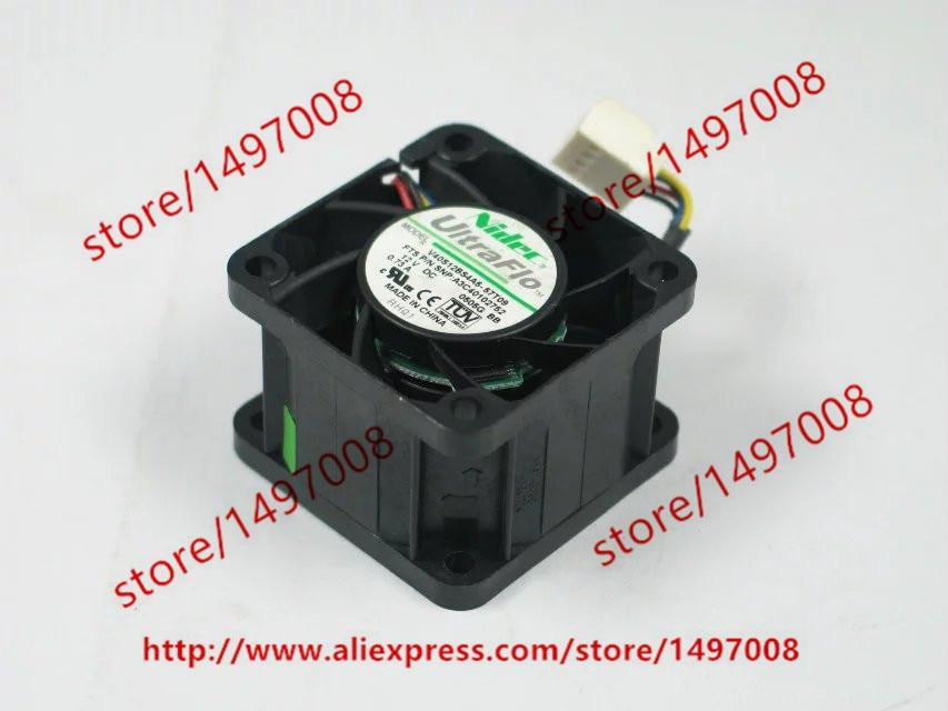 Nidec V40S12BS4A5-57T09 DC 12V 0.73A 40x40x28mm Server Square Fan
