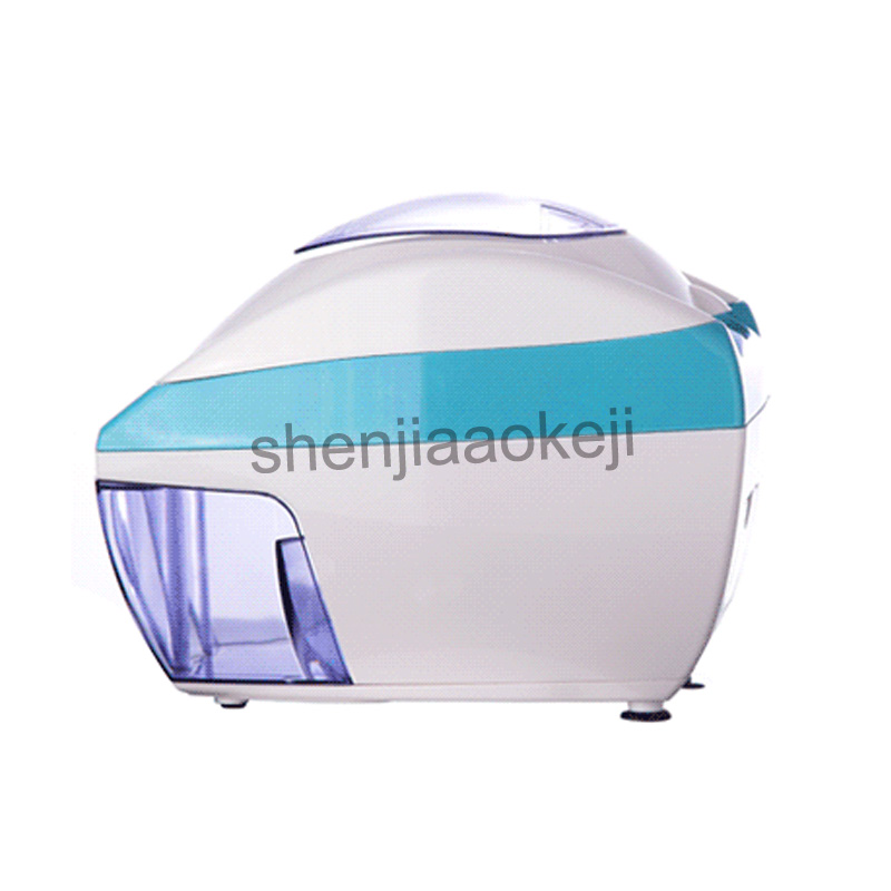Household Automatic Commercial Tea Shop Ice Chopper Electric Ice Crusher Small Smoothie machine 220v 35w 1pc