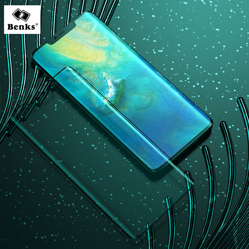 Benks For Huawei Mate 20 Pro Screen Protector Mate 20 Pro Tempered Glass Protective Film 0.3mm 3D Edge Full Coverage LCD Guard