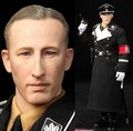 "1/6 scale Military figure doll WWII Germany Operation Anthropoid Reinhard Heydrich 12"" action figures doll Collectible Model toy"