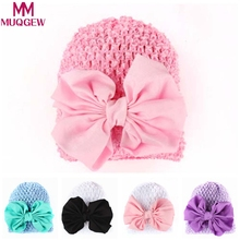 b1680489ee8 2018 soft hats for newborn girls Baby Hats baby caps spring Cotton Baby Girl  Bohemia Hat