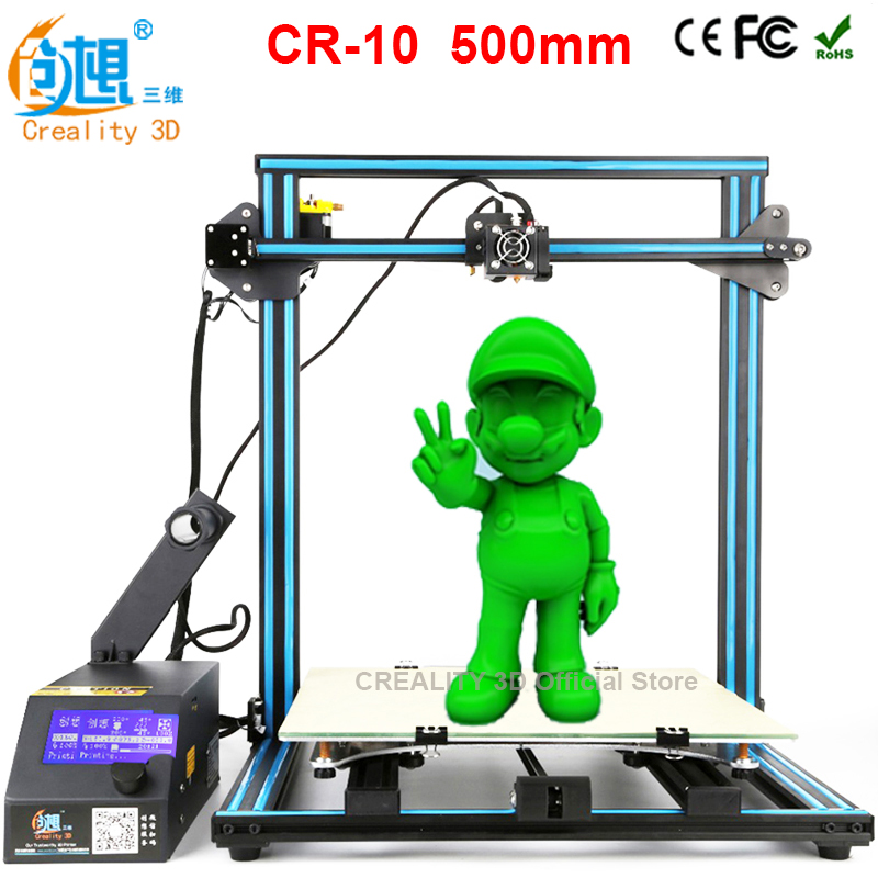 CREALITY 3D CR 10 Large 3d print Faster Preheat High Precision Reprap Prusa i3 3d printer