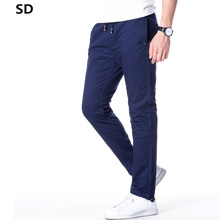 SD Brand Casual Pants Men Solid Fashion Quality Brand Pants