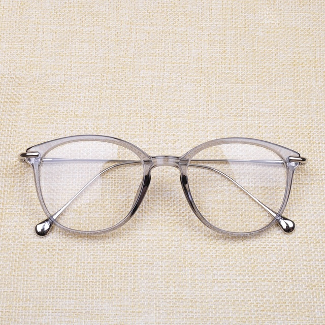 35095149a1a Vazrobe Transparent Glasses Women fashion frame for women s degree optical prescription  lens with clear plain lens female points