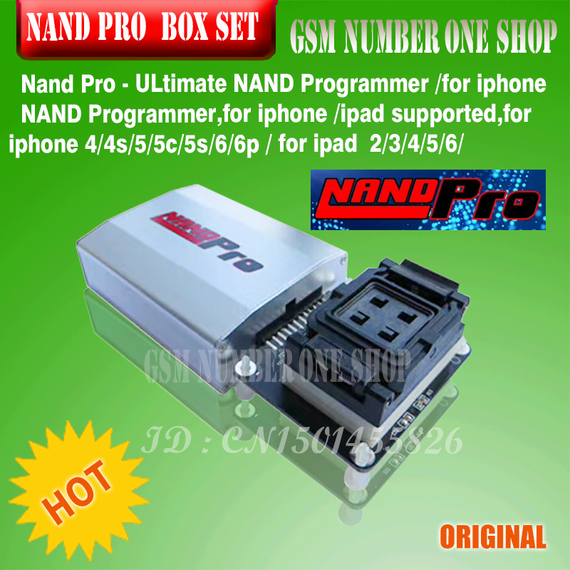 NEW Nand Pro - Ultimate NAND Flasher/ Ip Nand Programmer For Iphone 4/4s/5/5c/5s/6/6p/ For Ipad 2/3/4/5/6/