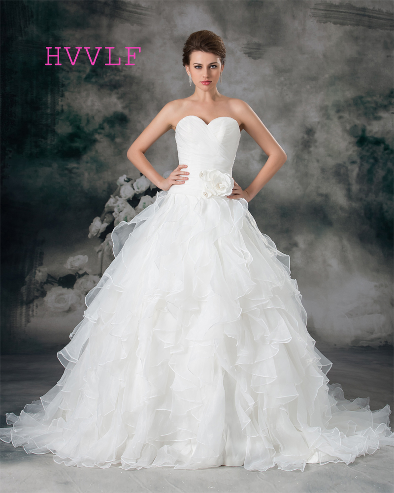 Affordable Maternity Wedding Gowns: Plus Size 2018 Wedding Dresses Ball Gown Sweetheart