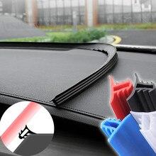 Car Stickers Dashboard Sealing Stripsfor mercedes w204 w211 vw t5 seat ateca vw golf 4 golf mk2 seat leon mk3 nissan qashqai