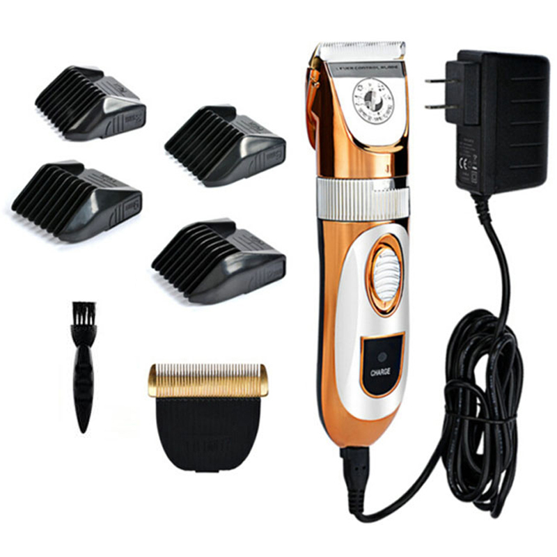 Professional High Power 60W Electric Pet Hair Clipper Cat Dog Rabbit Hair trimmer Grooming Machine with Spare Head 110-240VAC