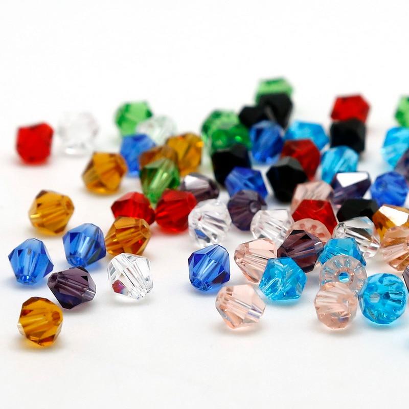 Schmuck & Zubehör Runde Form Gehobenen Österreichischen Kristall Perlen Imitation Farbe 4mm 145 Stücke Lose Ball Perlen Halskette Armband Schmuck Diy