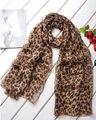 1 pc Fashion Sexy  Style  Long Leopard Chiffon Shawl Wrap  Lady Chiffon Street Beat Scarf Wrap