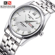 Dropshipping Mens Watch Kingnuos Brand New Selling Quartz for Men Clock 2019 Business Date Week Hodinky Relogio Masculino