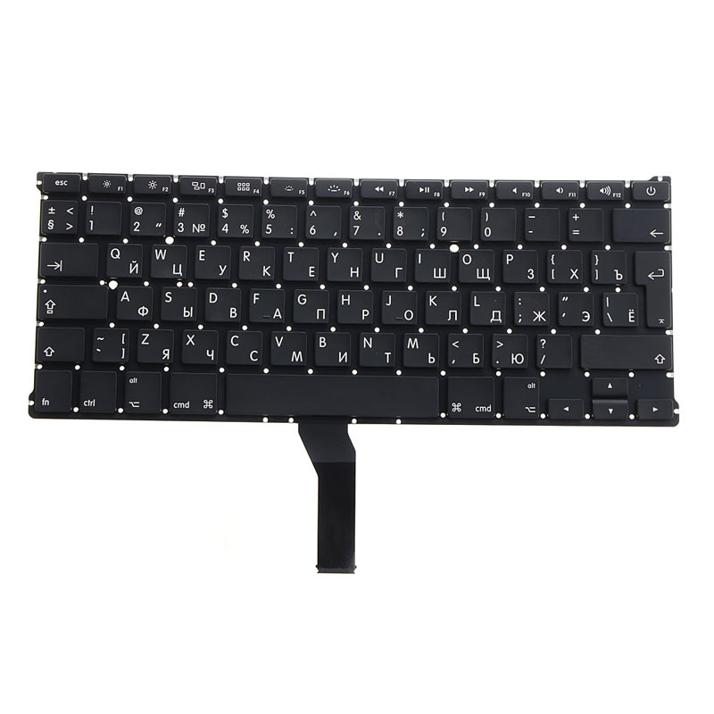 English Russian Standard Laptop Keyboard Replacements Fit For A1369 A1466 Notebook Compu ...