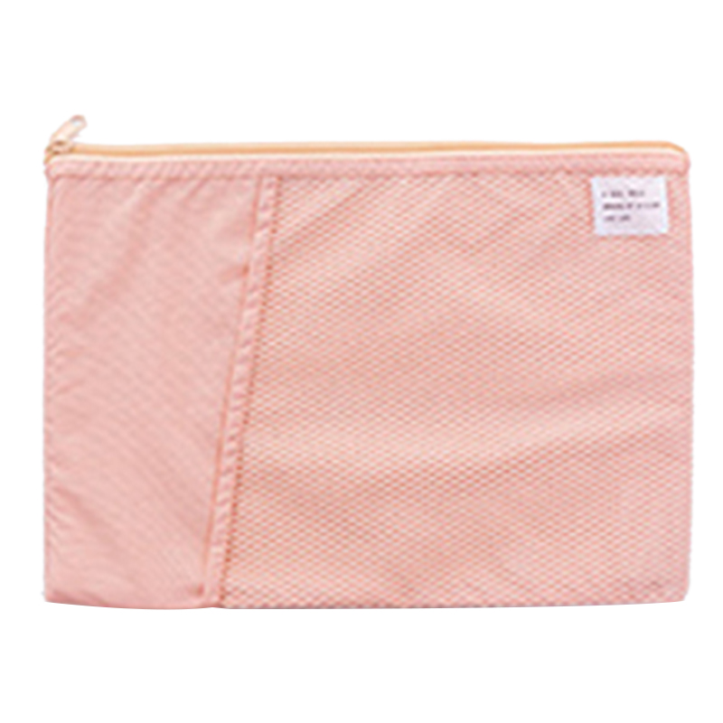 Multi-Function A4 Grid File Folder Fabric Document Bags Holder Storage For Paper Bill Stationery Package Pouch School Office