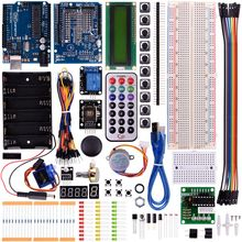 Miroad Complete Starter Kit for Arduino With Uno R3 LCD Sensor Motor AVR MCU Super Learning Kits  K23