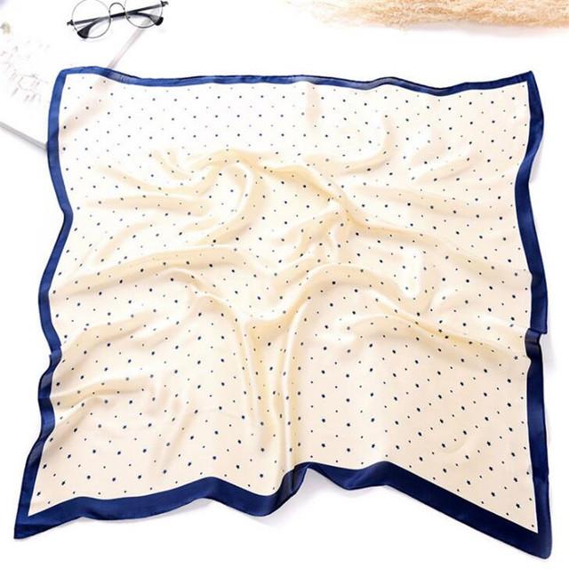 Elegant Silk Kerchief