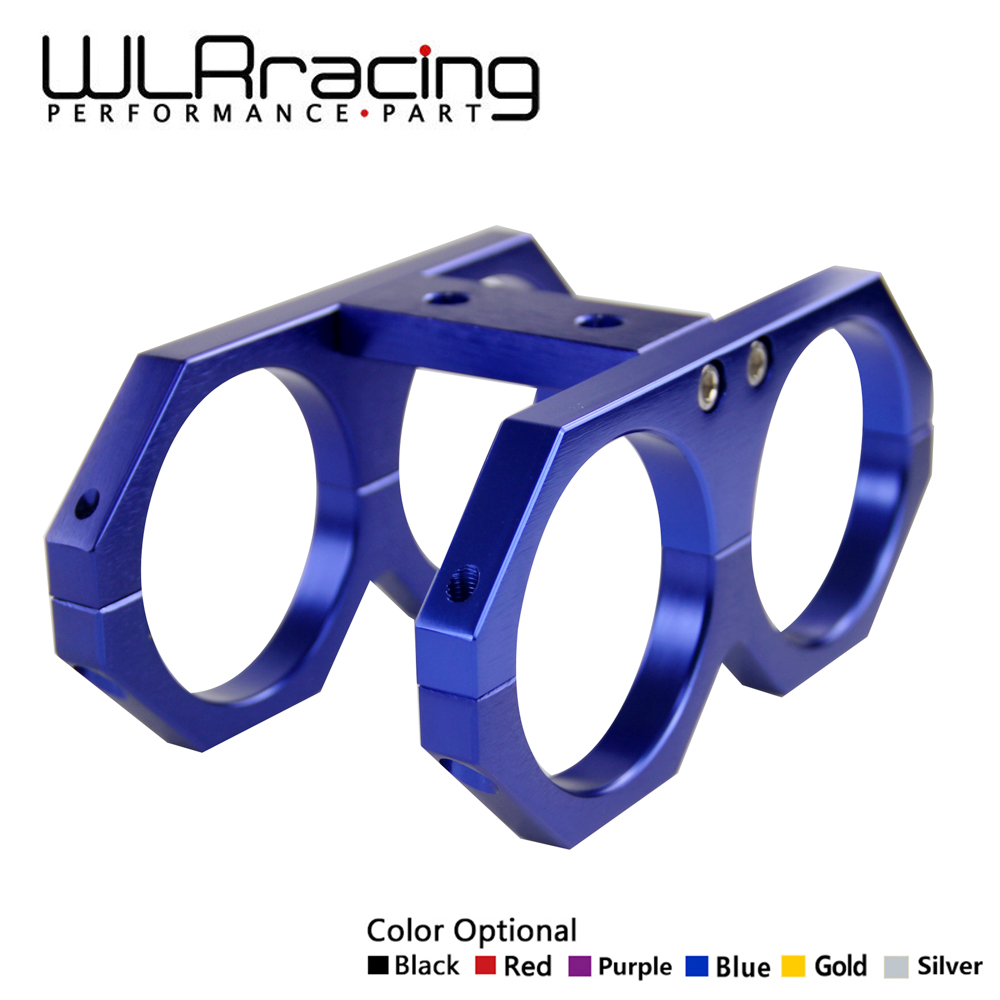 WLR RACING - 60MM Twin Dual Fuel Pump Mounting Bracket Clamp In- line 0580254044 300lph Fuel Pump Bracket WLR-LD2611WLR RACING - 60MM Twin Dual Fuel Pump Mounting Bracket Clamp In- line 0580254044 300lph Fuel Pump Bracket WLR-LD2611