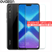 Screen Protector For Huawei Honor 8X Honor8X 9H 0.26MM Explosion-proof Tempered Glass Protective Film