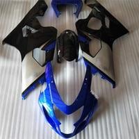 Motobike ABS Injection Fairing Kits For Suzuki GSX R600 GSX R750 K4 04 05 Suzuki 2004 2005 GSXR 750 600 K4 04 05 blue/black