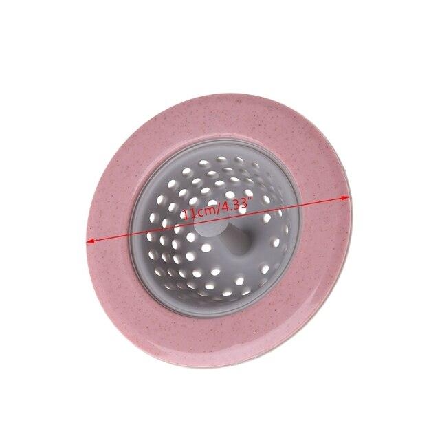 hngchoige silicone tpr kitchen sink strainer bathroom shower drain rh aliexpress com