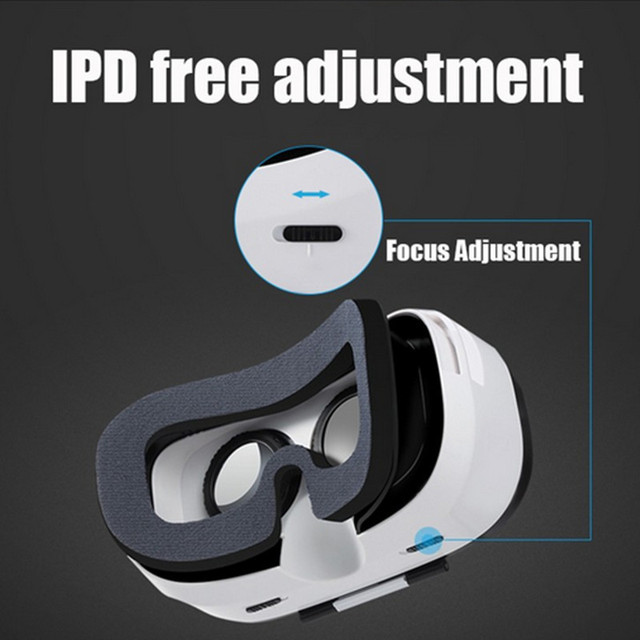 FiiT VR 2S Head Mount 3 D Cardboard Virtual Reality Goggles VR Headset Glasses Phone 3D Video Game Private Theater+Controller