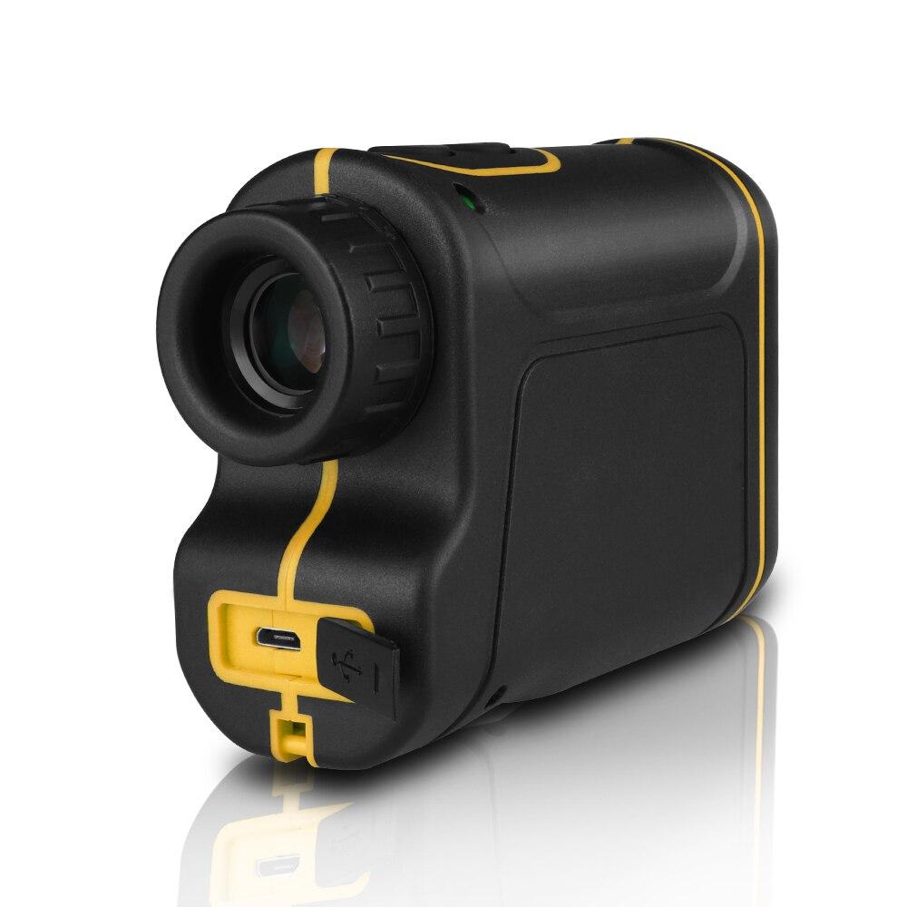 Télescope Télémètre Laser 1000 m Laser Mètre de Distance 7X Monoculaire Golf chasse laser Range Finder ruban à Mesurer Roulette sport - 3