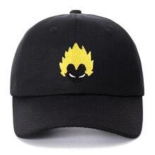 Унисекс Dragon Ball кепки хлопчатобумажная бейсболка взрыв головы молодежи вышивка для женщин Мужская бейсболка уличная Snapback шапки