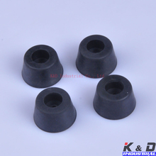 20pcs Round Rubber Feet Stop Space 25x15mm For Tube Amp Radio Gear ATA Cabinet цена 2017