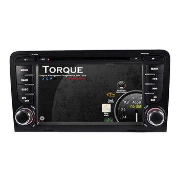 Autoradio Double Din Android Voiture DVD GPS Pour Audi 2010 A3 8 P/A3 8P1 3 Portes Hayon/S3 8 P/RS3 Sportback Autoradio DSP