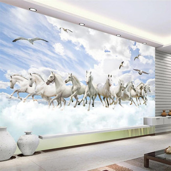 Custom wallpaper Prince Charming 3D murals fashion three-dimensional landscape TV background wall decorative painting wallpaper