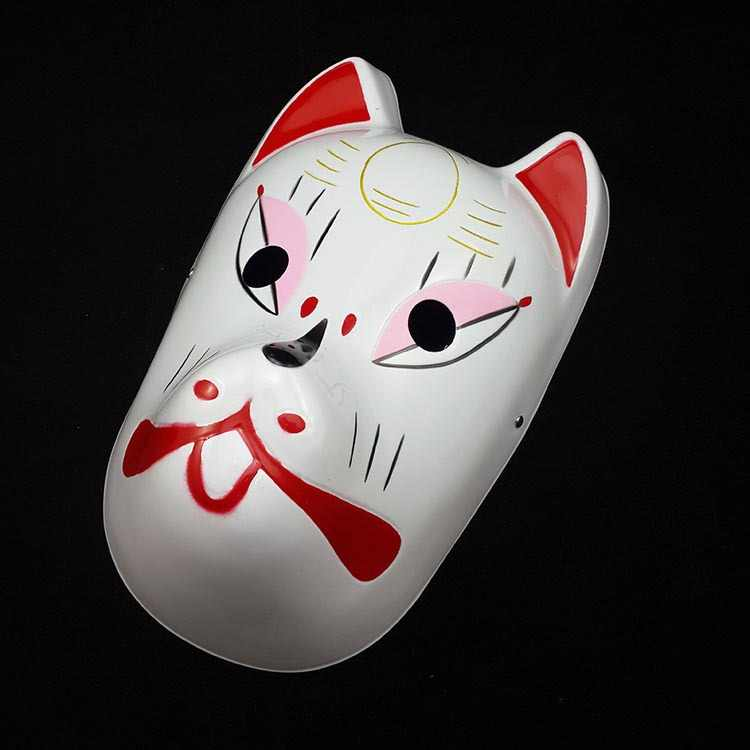 Ust Sinif El Boyama Performans Jester Jolly Maske Pvc Kadin